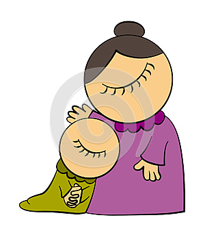 Mom's Love Royalty Free Stock Photography - Image: 25301327
