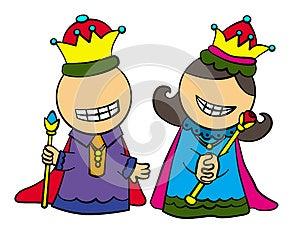 Royal Folks Royalty Free Stock Photo - Image: 25301345