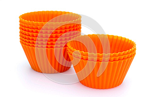Silicone Cupcake Cases Stock Images - Image: 25318544