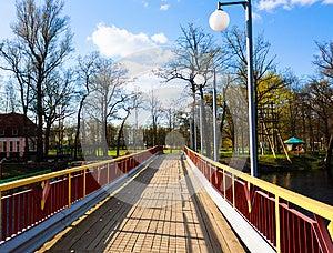 Wooden Bridge Royalty Free Stock Photos - Image: 25335148
