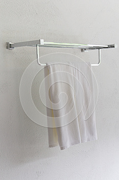 A White Towel. Stock Photo - Image: 25343370