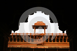 Architecture Of The Red Fort Agra, India Royalty Free Stock Image - Image: 25347986