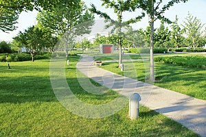 Sommerpark Lizenzfreies Stockfoto - Bild: 25354545