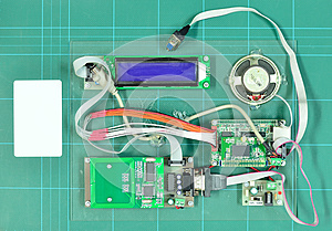 RFID Kit Stock Image - Image: 25355651