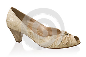 Feminine Loafer Royalty Free Stock Images - Image: 25356939