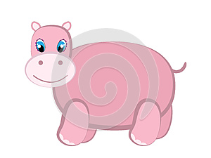 Cute Hippo Royalty Free Stock Images - Image: 25357609