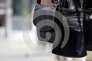 A Black Bag Royalty Free Stock Images - Image: 25361139
