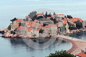 Sveti Stefan Island In Montenegro Stock Photos - Image: 25366033