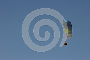 Paraglider Stock Photo - Image: 25366450