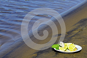 Lime Wedges Royalty Free Stock Photos - Image: 25378368