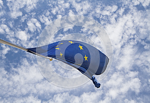 Flag Of The European Union Royalty Free Stock Photo - Image: 25382165