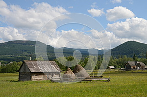 Rustic Fence House Stock Photography - Image: 25384222