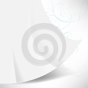 Waving Paper Concept Background Royalty Free Stock Image - Image: 25387886