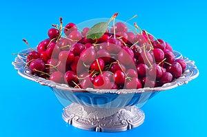Chilled Cherries Stock Photo - Image: 25388250