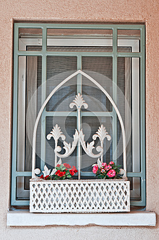 Window In The Farmhouse Royalty Free Stock Photography - Image: 25389207