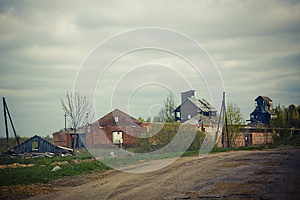 Tornado Consequences Royalty Free Stock Photo - Image: 25394345