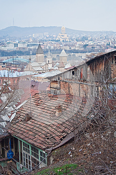 View Of Tbilisi, Georgia Stock Images - Image: 25394464
