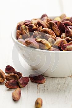 Bowl Of Pistachio Royalty Free Stock Images - Image: 25396289