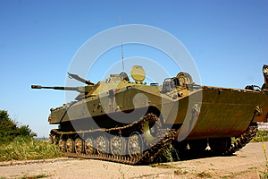 Military Infantry Fighting Vehicle BMP-2 Royalty Free Stock Photography - Image: 25396447