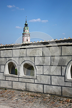Castle Tower Stock Photography - Image: 25396542