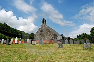 Llanymawddy Church 01 Royalty Free Stock Photos - Image: 2546678