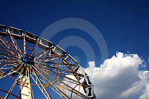 Ferris Wheel Royalty Free Stock Images - Image: 2546979