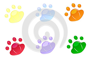 Backgrounds For Icons In Pad Shape Stock Photo - Image: 25404910