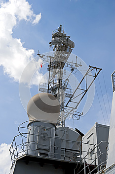 Radar Tower Royalty Free Stock Images - Image: 25411789