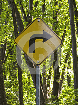 Right Turn Stock Photography - Image: 25413232