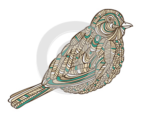 Decorative Bird Royalty Free Stock Photos - Image: 25420158