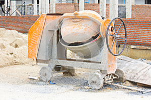 Cements Mixer Machine Stock Photography - Image: 25422642