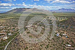 Scenic Vista Of East Mesa And Apache Junction Stock Image - Image: 25427751