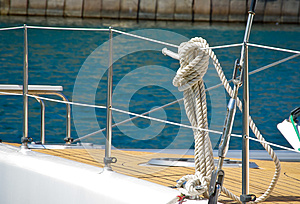 Rigging Yacht Stock Images - Image: 25431294