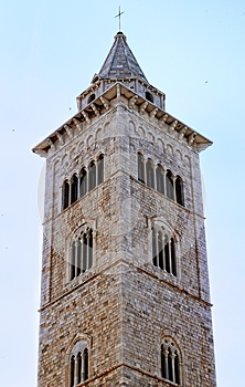 The Bell Tower Of Cathedral Of Trani (BA) Royalty Free Stock Photos - Image: 25432458