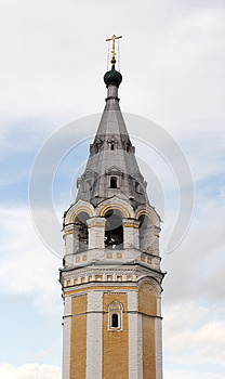 Bell Tower Of The Orthodox Church Royalty Free Stock Images - Image: 25440559