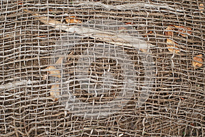 Jute And Natural Garden Background Stock Photography - Image: 25440742