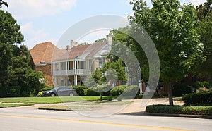 Neighborhood Building Stock Image - Image: 25441821