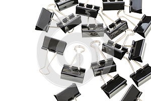 Binder Clips Royalty Free Stock Photography - Image: 25441887