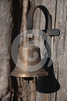 Brass Doorbell Stock Photos - Image: 25445913