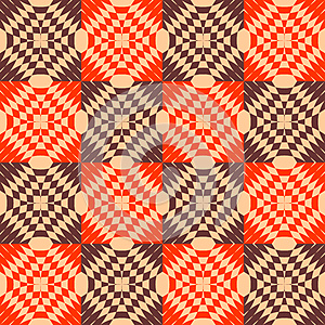 Seamless Checked Texture. Stock Images - Image: 25449314