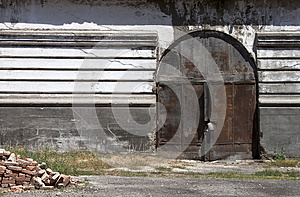 Old Gate - RAW Format Royalty Free Stock Photo - Image: 25451415