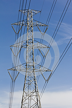 High Voltage Tower Stock Images - Image: 25454554