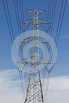 High Voltage Tower Stock Images - Image: 25454574