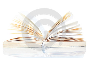 Open Book Encyclopedia. Stock Images - Image: 25457314
