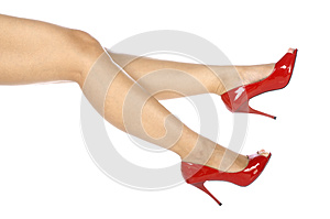 Wearing Red Shoes Stock Photography - Image: 25473122