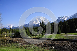 Canadian Rockies. Royalty Free Stock Photo - Image: 25476615
