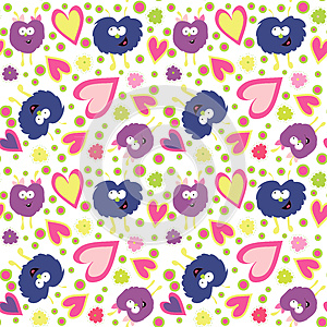 Monster's Pattern Stock Photography - Image: 25476822