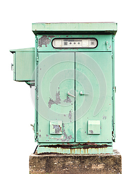 Electric Control Box Royalty Free Stock Image - Image: 25487106