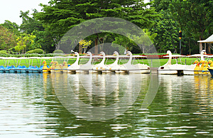 Water Cycle Boat Stock Image - Image: 25488571