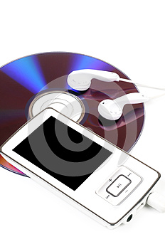 Mp3 Player Royalty Free Stock Image - Image: 25492246